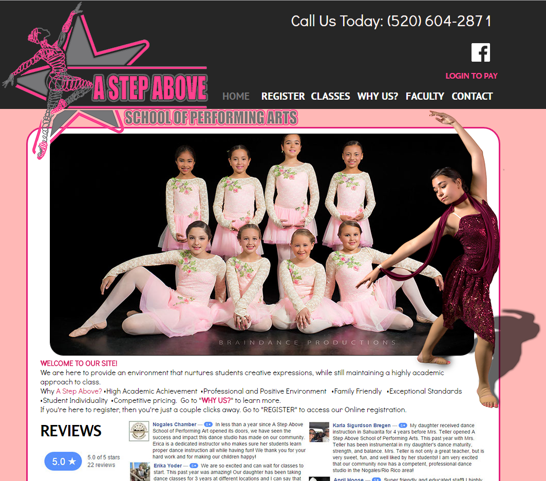 A Step Above: School of Performing Arts