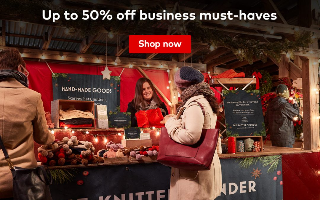 Vistaprint Deal: Up to 50% of all your business must-haves